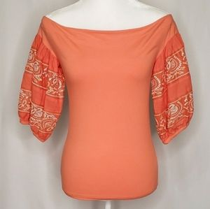 Free People Off Shoulder Rock With It Top